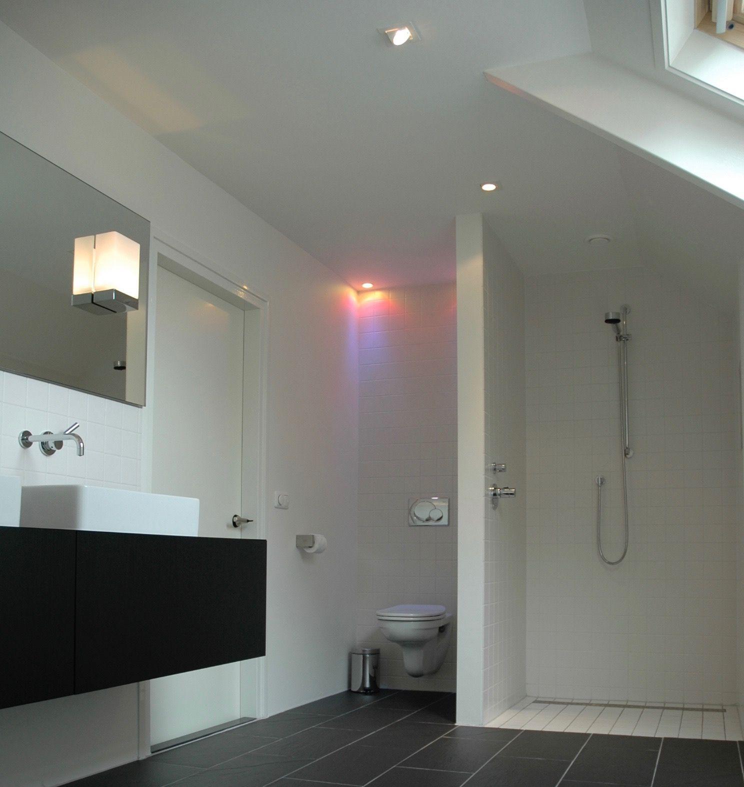 interieurdesign / badkamer / maatwerk / inloop douche / lichtplan ...