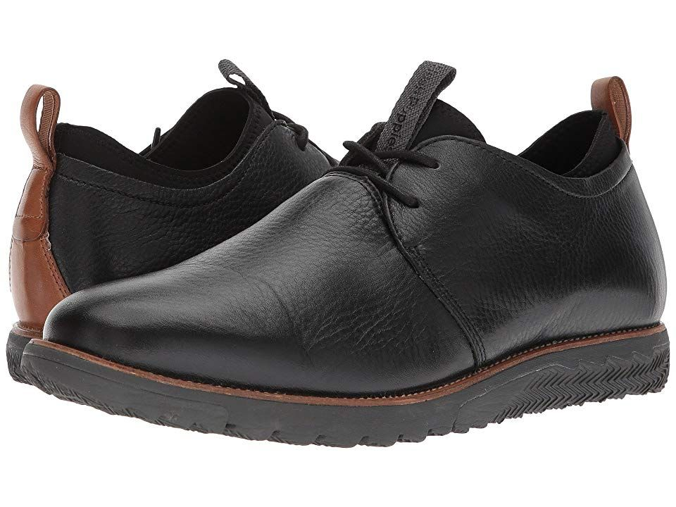 Hush Puppies Performance Expert Men S Lace Up Casual Shoes Black Leather Shoes Black Leather Hush Puppies Nubuck Leather