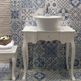 Tapestry Blue Patterned Tiles Porcelain Superstore blue 2