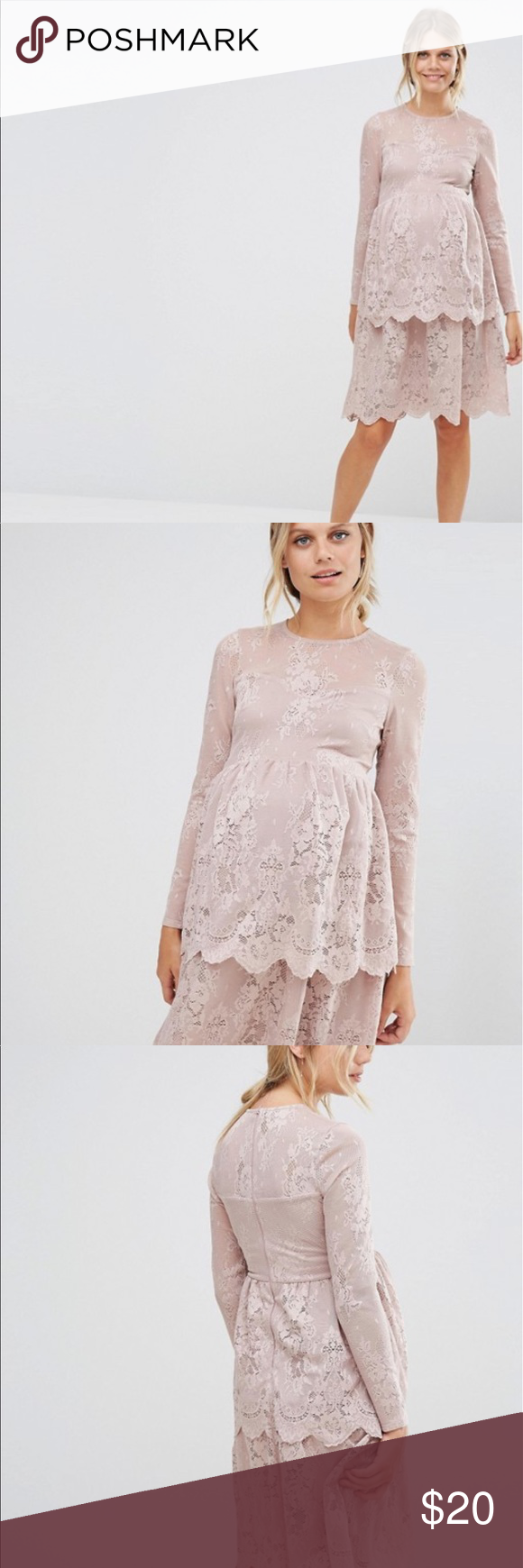 Nwt asos lace maternity dress lightly worn no flaws size 12 asos nwt asos lace maternity dress lightly worn no flaws size 12 asos maternity dresses ombrellifo Images