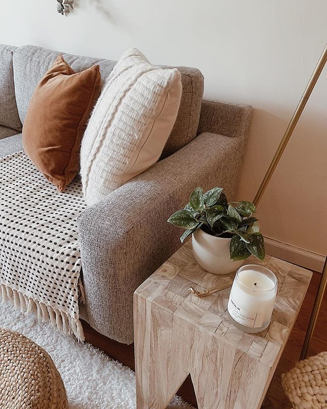 Instagram Home Decor Small Apartment Decorating Apartment Decor Decorative stools for living room