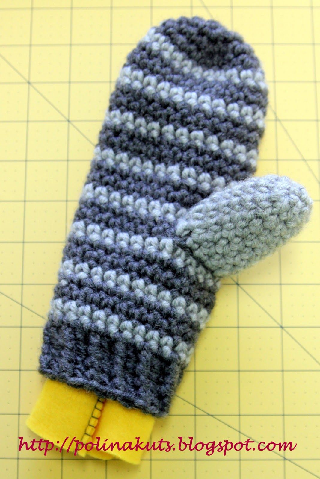 Перчатки вязаные своими руками фото 713