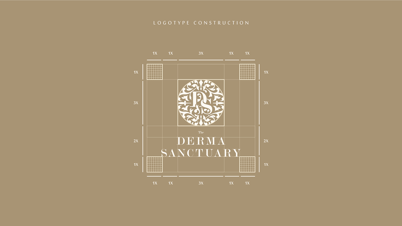 Identity creation project for Beauty Salon. Created in