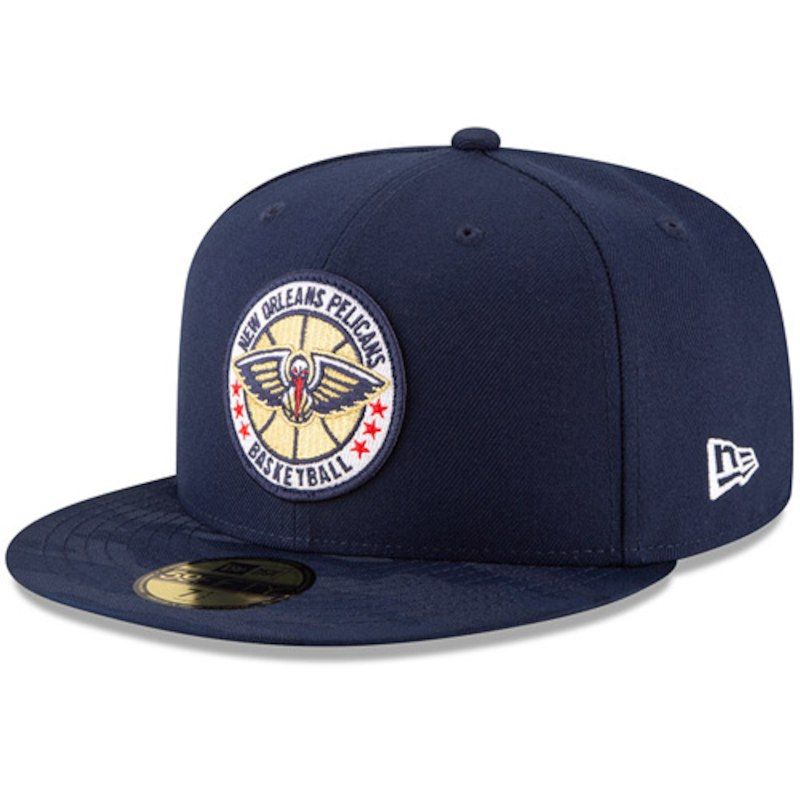 2eb519a4162 New Orleans Pelicans New Era 2018 Tip-Off Series 59FIFTY Fitted Hat – Navy