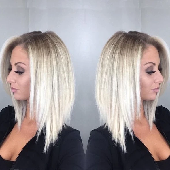 2020 Blonde Wigs Lace All Over Blonde Highlights