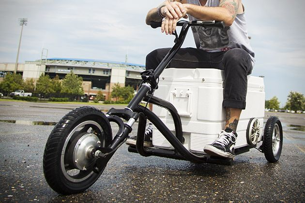 Kreweser Motorized Cooler | Too Cool | Motorized trike, Electric