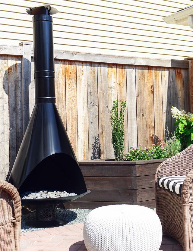 FIRE PLACE DESIGN CONCEPTS FOR An ELEGANT EXTERIOR SPACE ... on Modern Backyard Fireplace id=77938