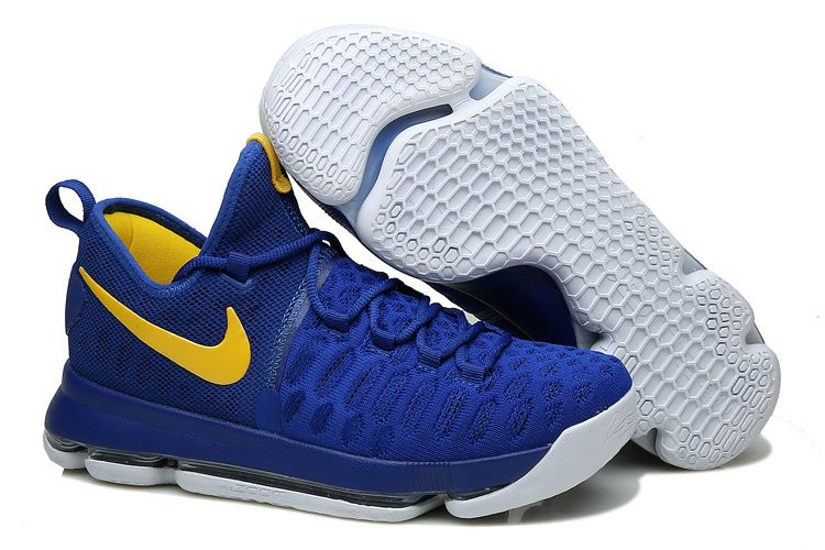 9395ef76991e ... discover the kd 9 golden state warriors blue yellow white 2016 for sale top  deals group