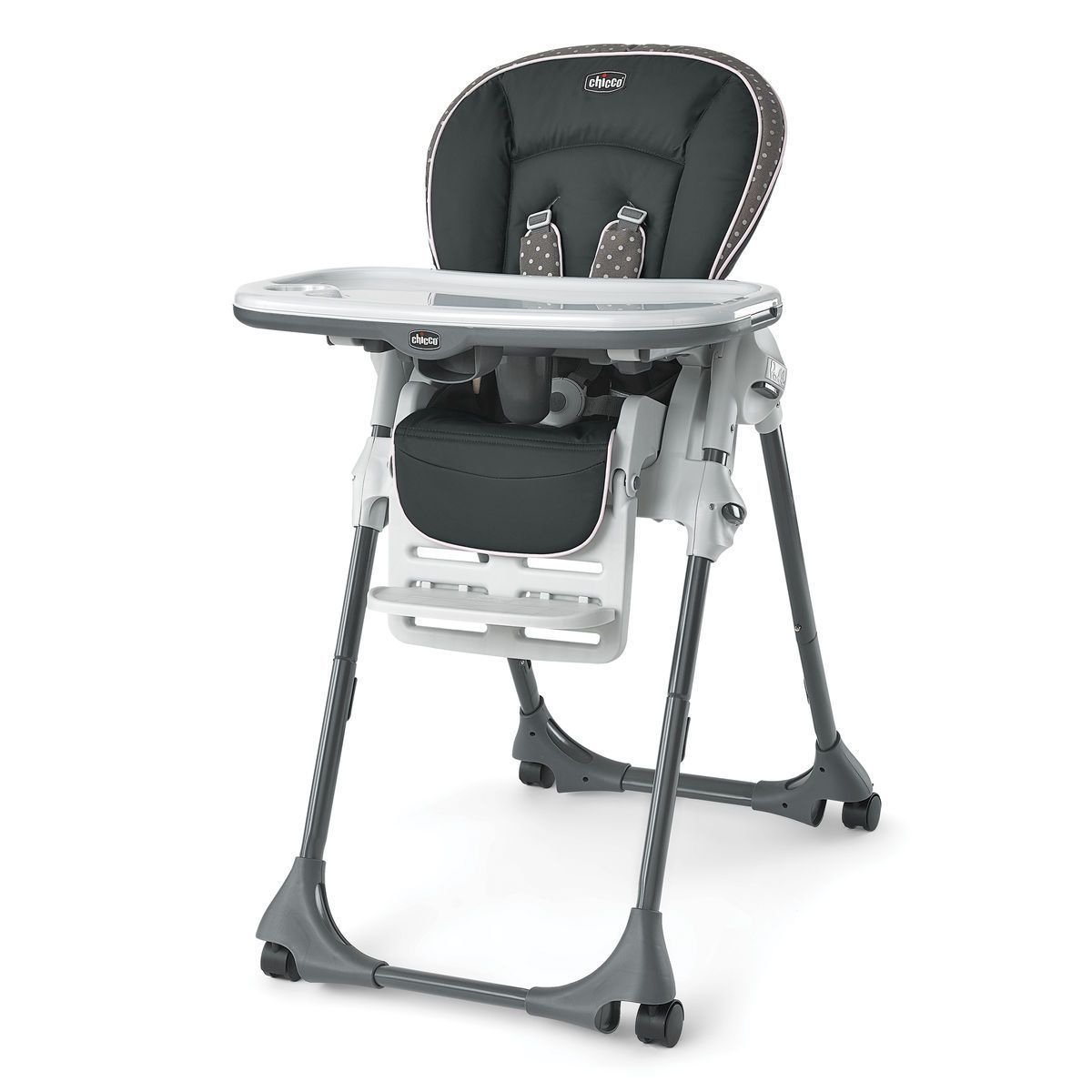 The Chicco Polly Highchair is the ultimate space saver