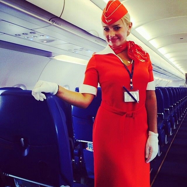 Aeroflot Stewardess @ane4ka_shapovalova Stewardess - air canada flight attendant sample resume