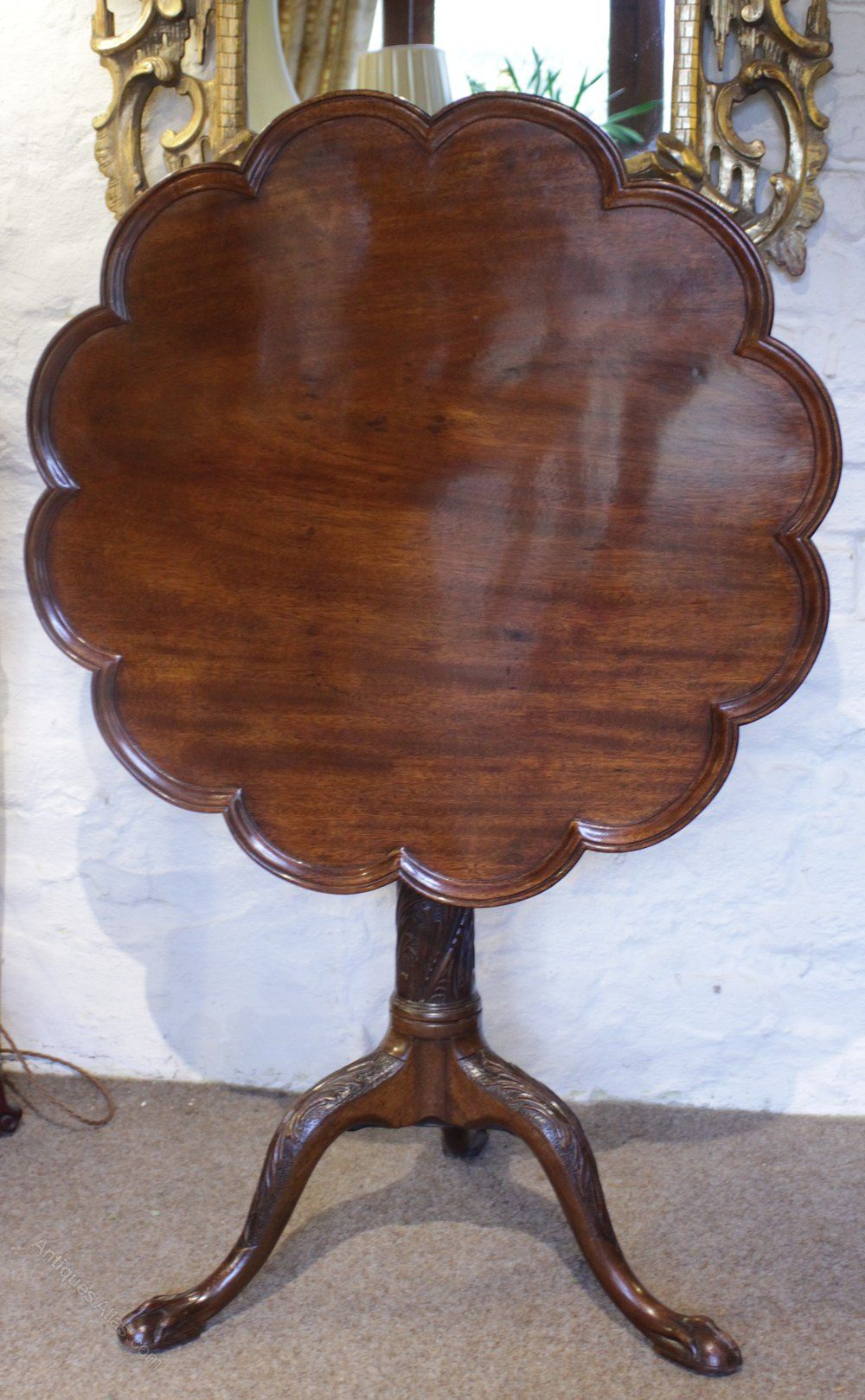 Mahogany Tilt Top Table In 2020 Antique Furniture For Sale Metal Chairs Furniture