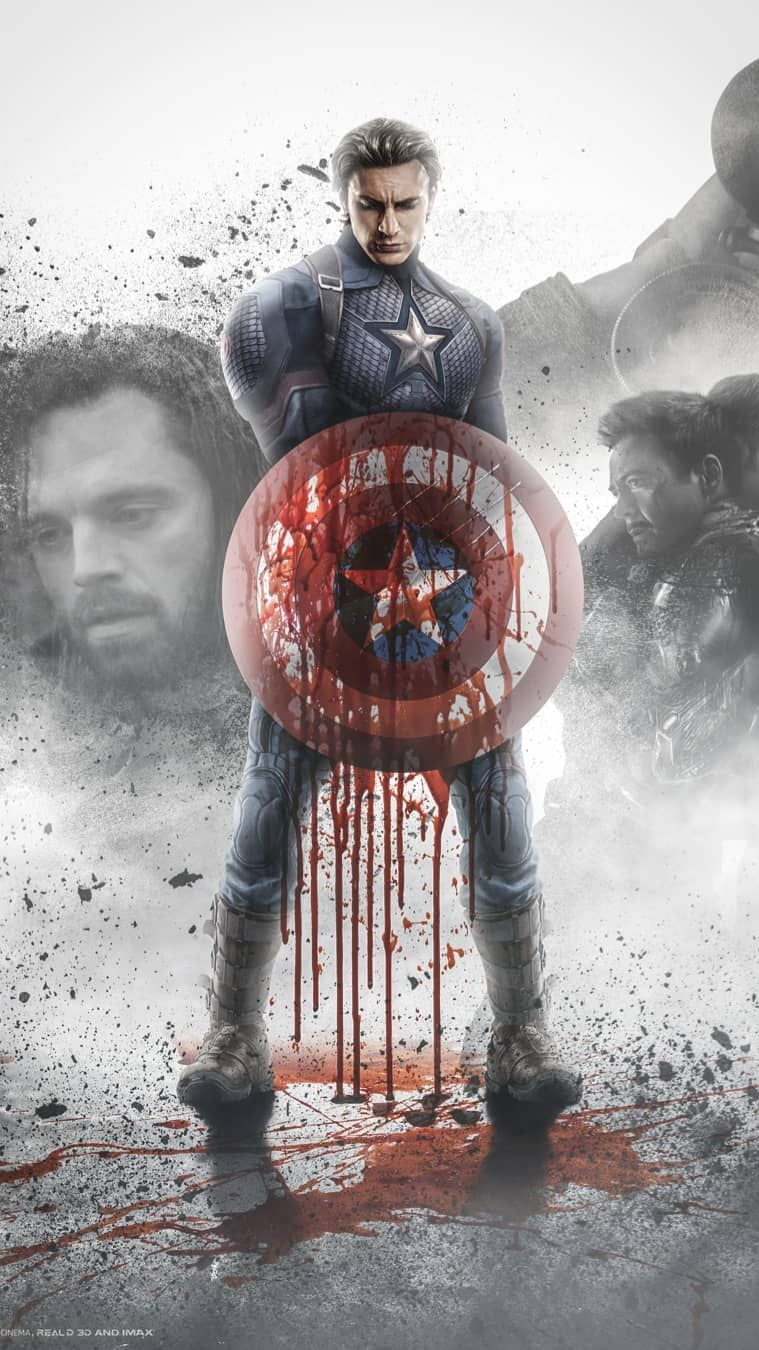Captain America Avengers Endgame Fan Art Iphone Wallpaper Benedict