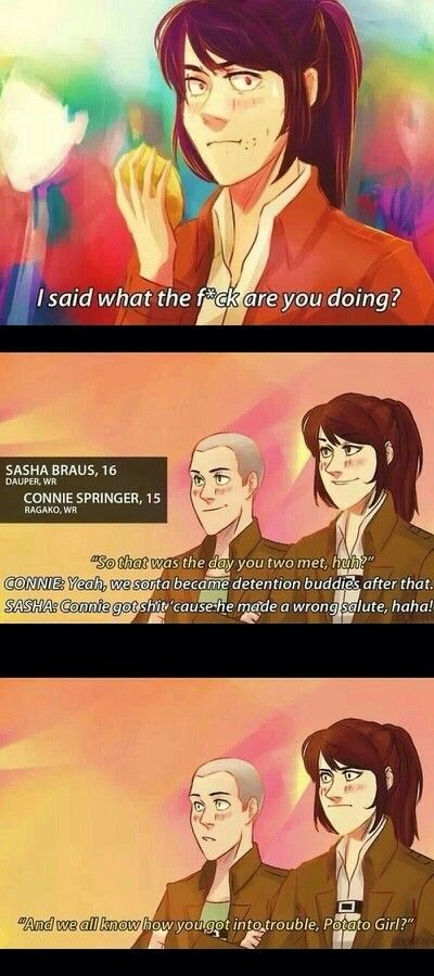Interview with Sasha and Connie 1/3