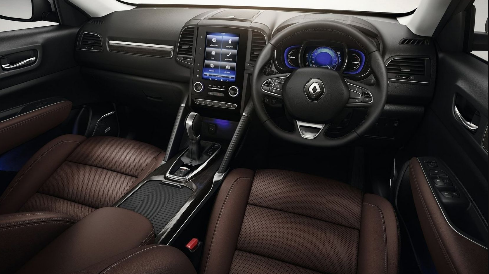 2018 renault koleos interior design news cars report for Interieur koleos 2017