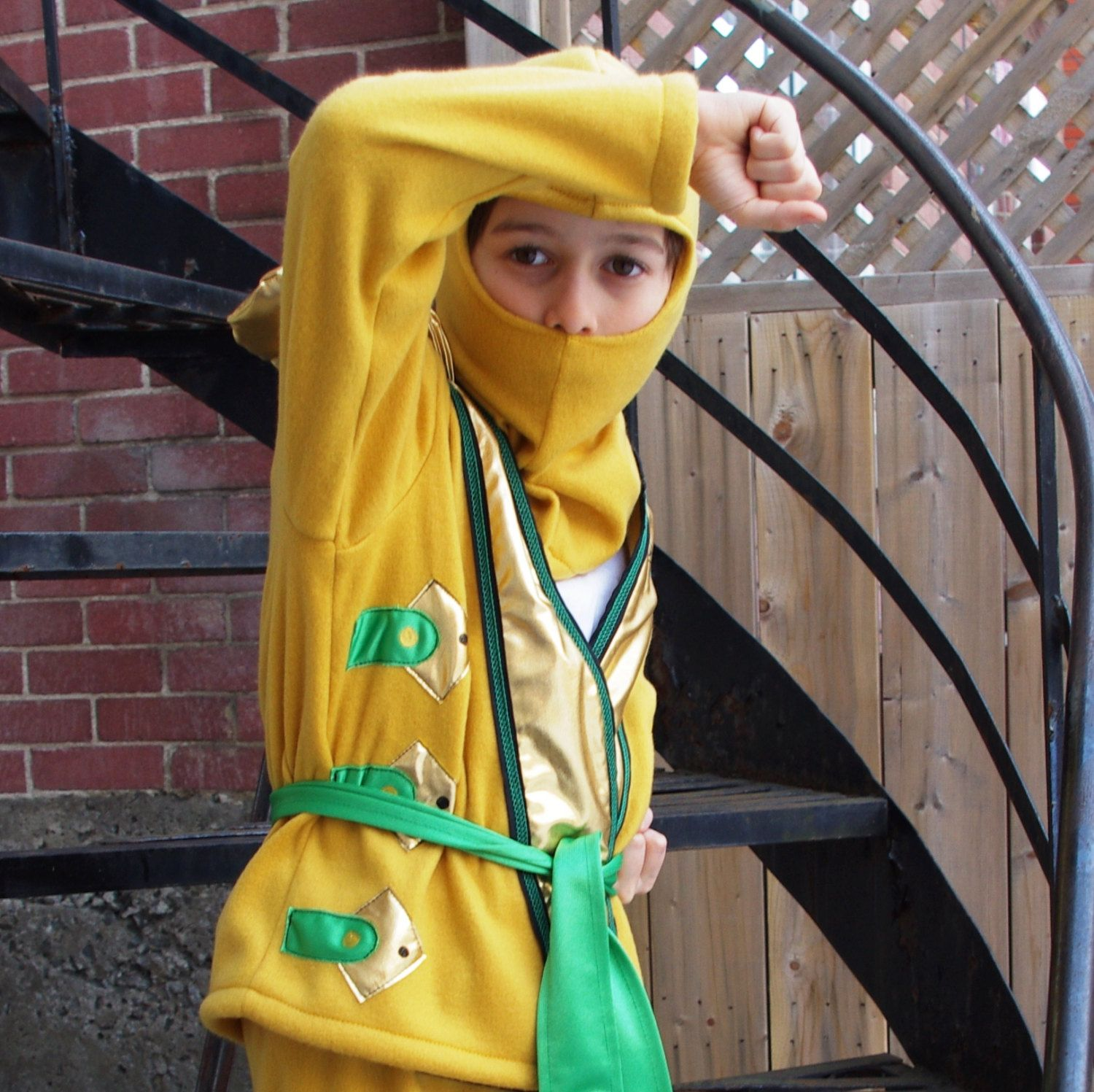 Golden Ninjago Costume top and hat only by CatherineSoucy on Etsy $95.00  sc 1 st  Pinterest & Golden Ninjago Costume top and hat only by CatherineSoucy on Etsy ...