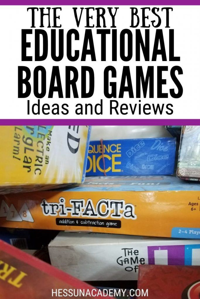 21 Best Educational Board Games (for fun and learning!)