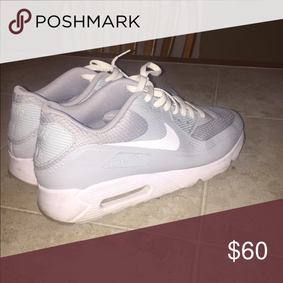 separation shoes 27f33 29414 Air Max Tennis Shoes Nike Air Max 90 Mesh Grey with white ...