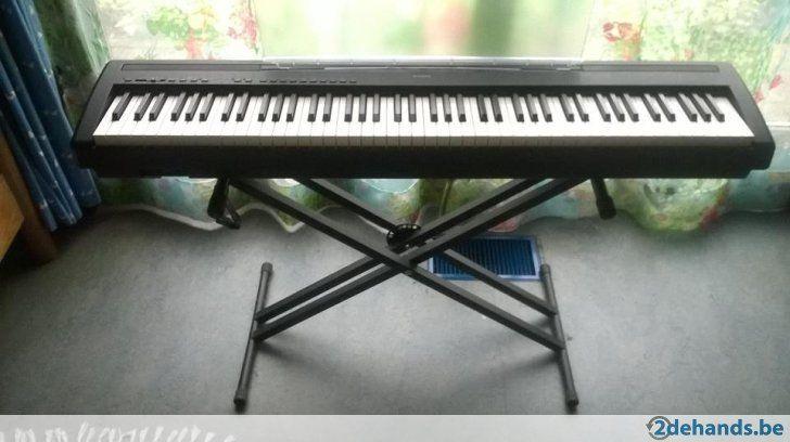 Mooie Houten Piano.Digitale Piano Yamaha P 95b P Als Nieuw Mooie Klank Evt