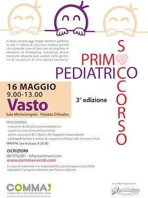 Primo soccorso pediatrico, a Vasto la terza Edizione