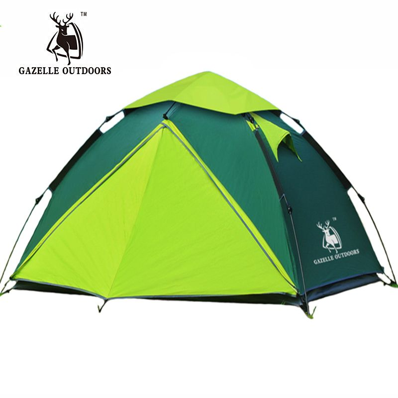 Winter Spring 3 4 Person Tourist Large Camping Tent For