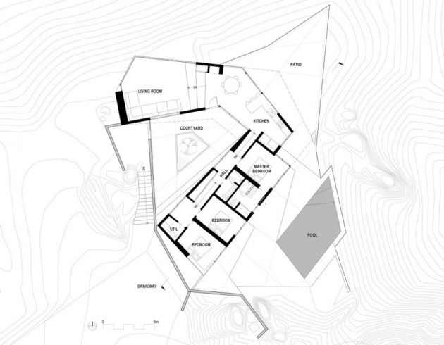 Haus Wuste Kalifornien Architektur Plan Villa Pinterest Villas