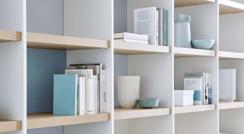 Bucherwand Passgenau Fur Ihre Bibliothek Regalraum Regal Regalsystem Bucherregal