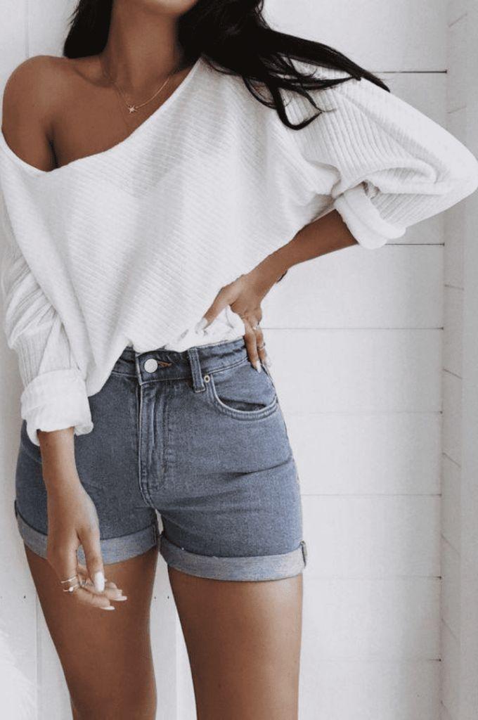 45 perfekte Sommeroutfits, die Sie jetzt brauchen - Frauen Sommer Mode -