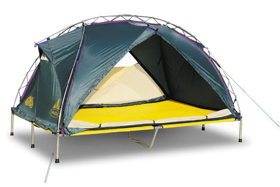 Zelt Bett with the wombat tentbed you will be comfortable protected and safe