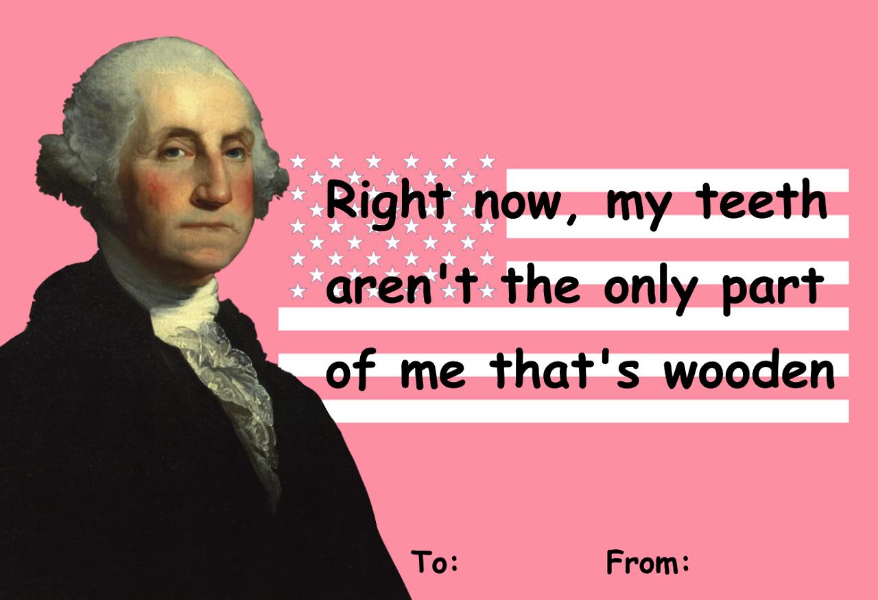 George Washington Valentine – Valentine Cards History