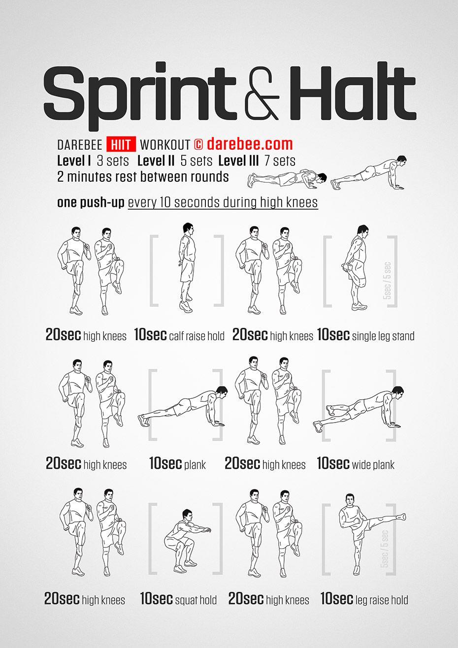 Sprint Amp Halt Workout Sprint Workout Track Workout Sprinter Workout