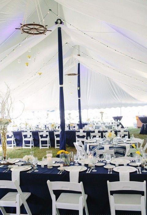62 Stylish Nautical Beach Wedding Ideas HappyWeddcom navy