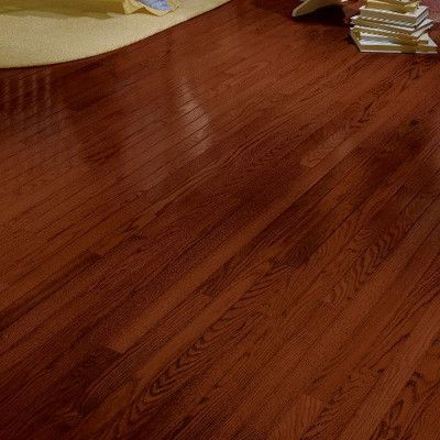 Bruce Flooring Manchester 3 14 Solid Red Oak Hardwood Flooring In