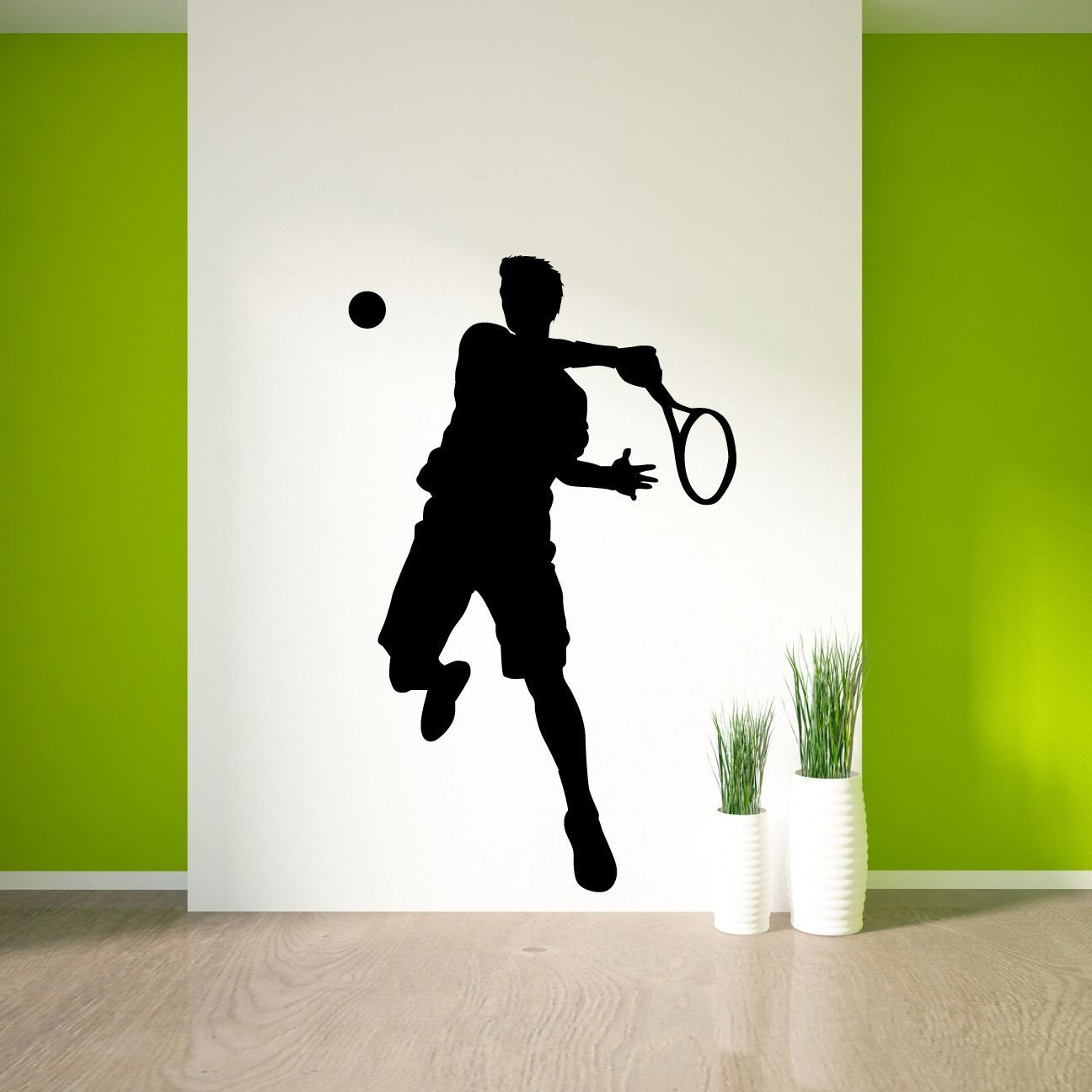 Tennis Wall Decal Sticker 31 Teenager Bedroom Boy Boys Wall Decals Tennis