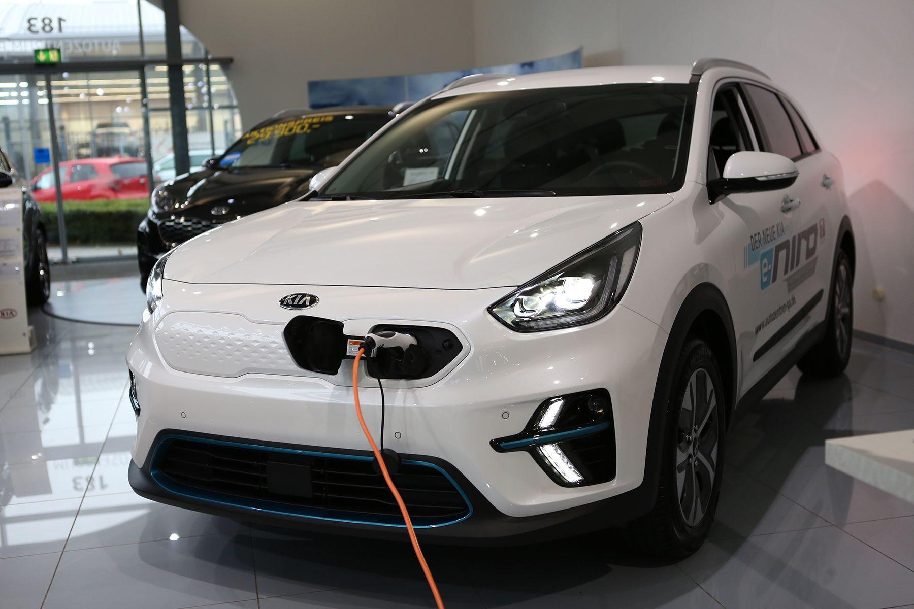 Kia E Niro Reines Elektroauto 2019 Elektroauto Autos Co2 Emission
