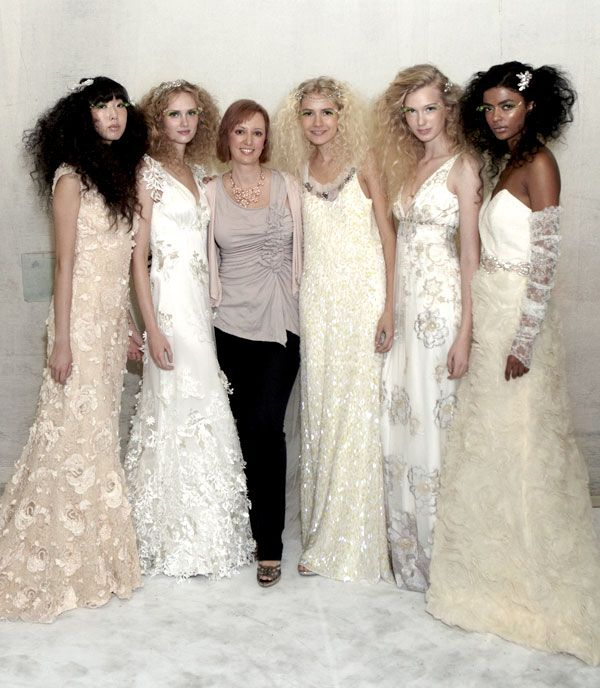 Claire Pettibone with models