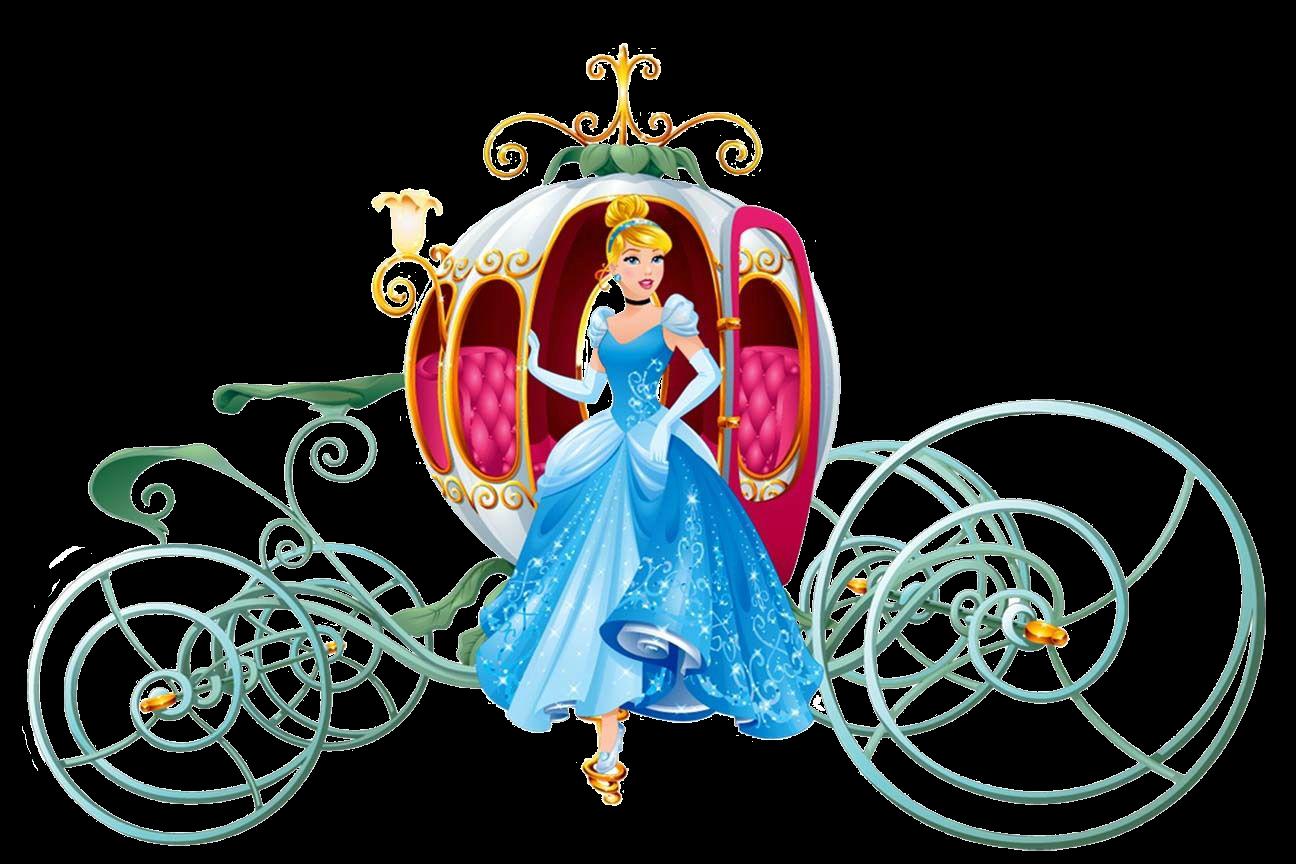 Cinderella And Pumpkin Coach Png Cinderella Characters Disney Magical World Disney Dream Portrait