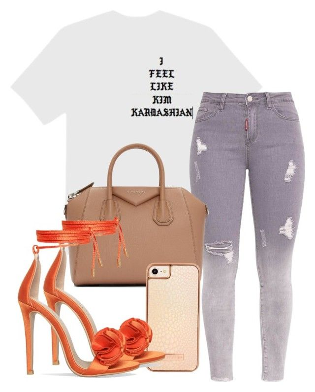 """""""Untitled #262"""" by champagnayegang on Polyvore featuring Givenchy and Skinnydip"""