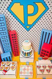 Resultado de imagen para fiesta super heroe