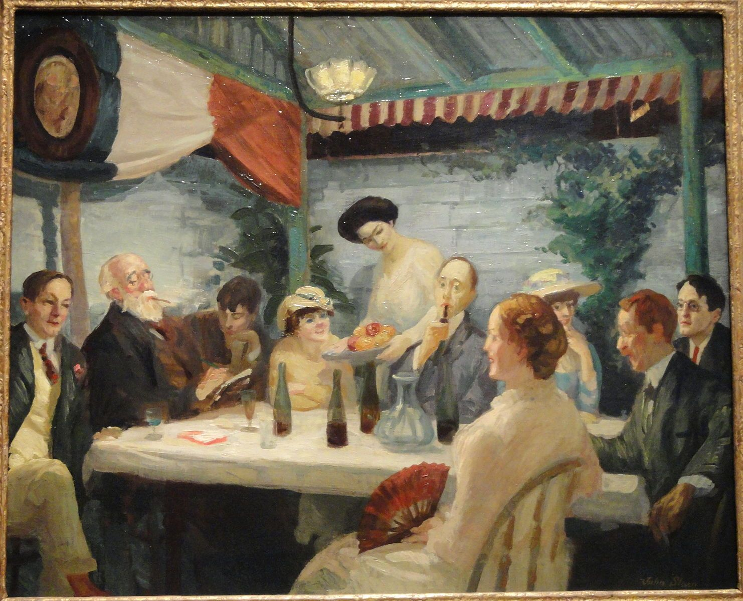 File Yeats At Petitpas By John Sloan C