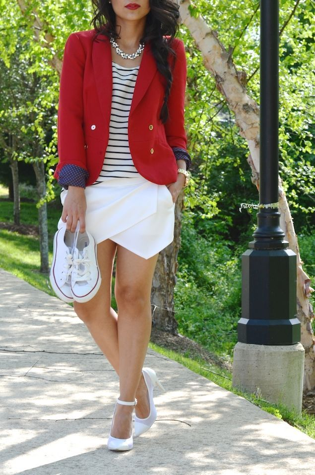 The Chicest Ambry: Red, White & Blue
