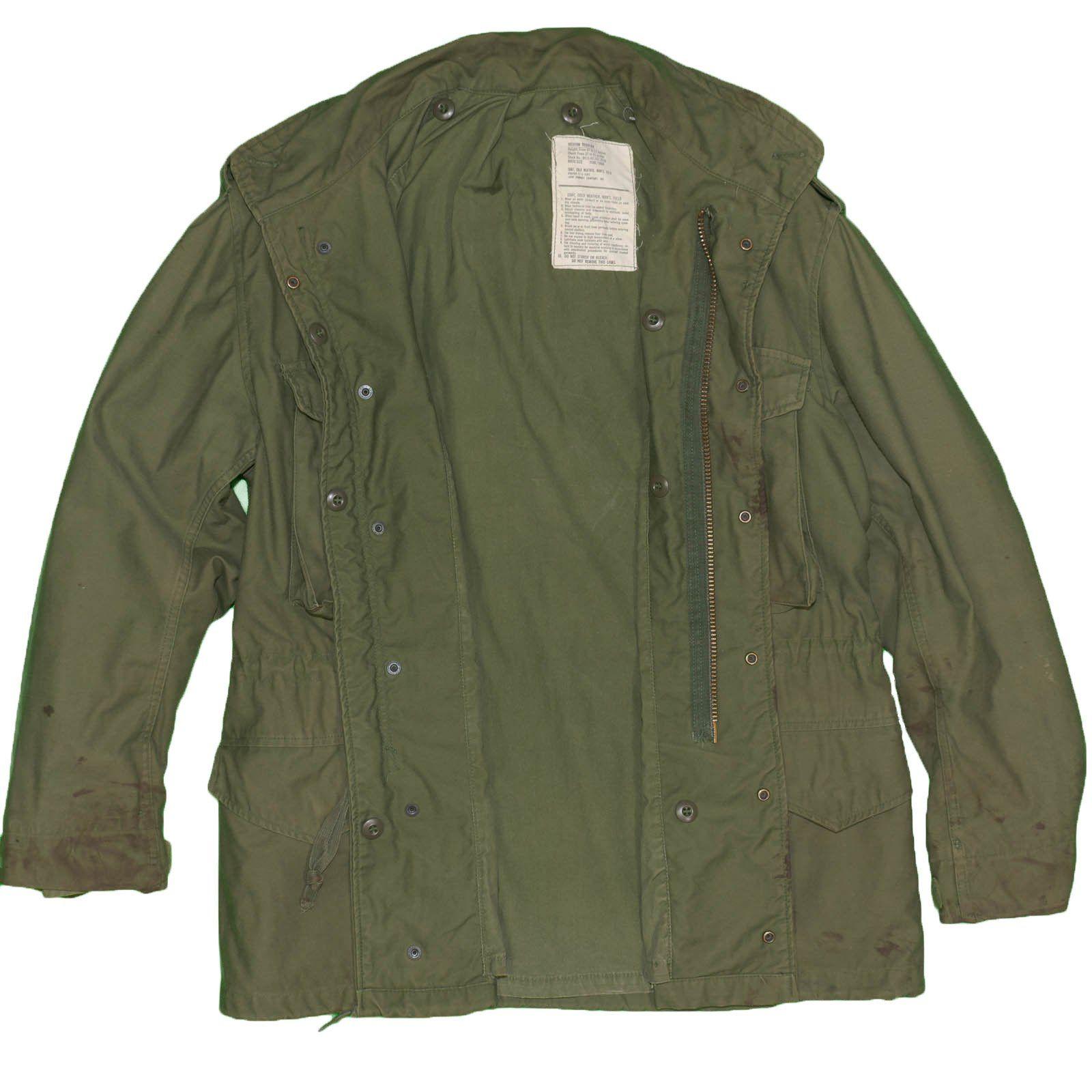 1977 US Military Field Jacket M-65 Vintage Medium OG-107 Distressed Wo –  itisvintage  fieldjacket  m65  workwear  itisvintage  militaria  military 765a33a9c