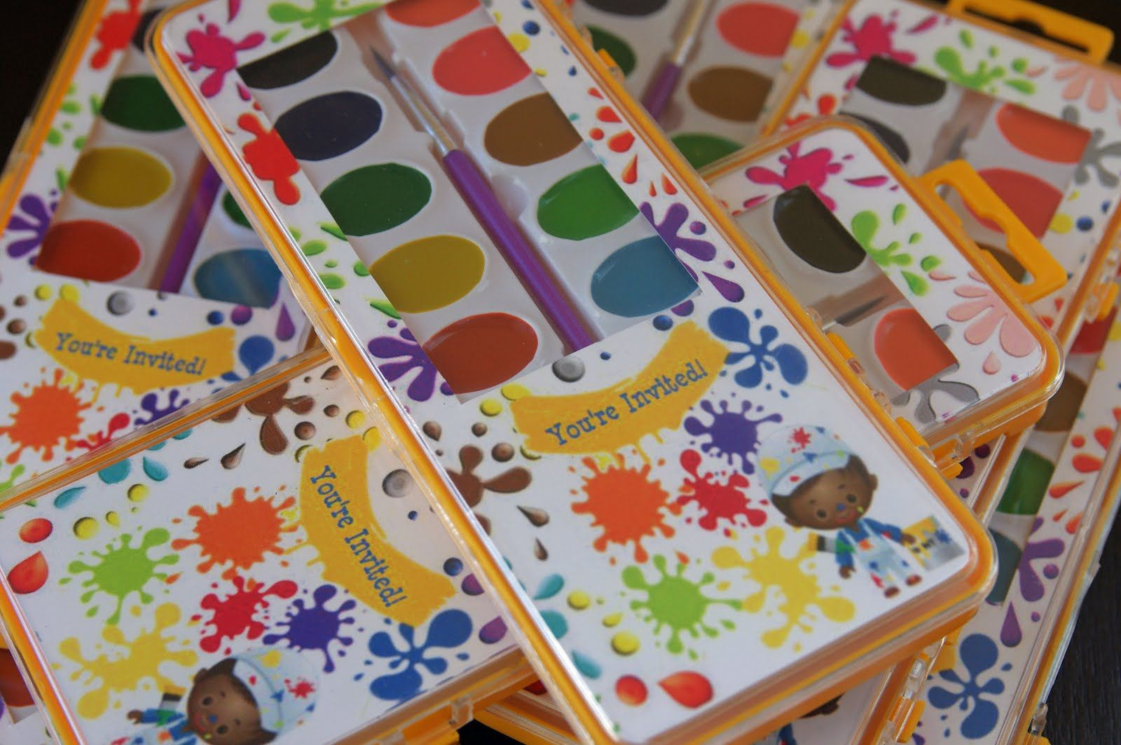 pictures+of+kids+art+parties | and here\'s the back with the details ...