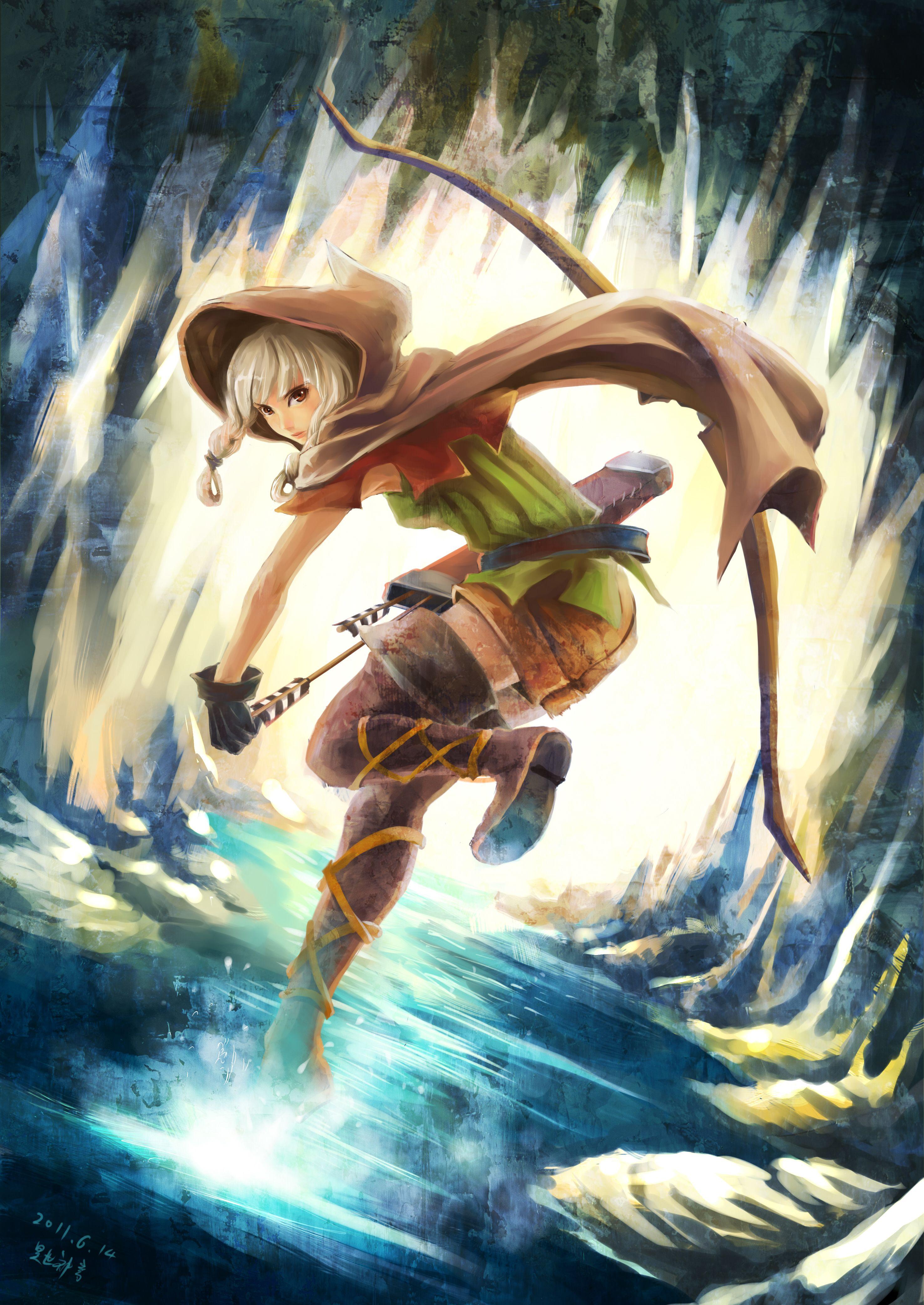 Elf (Dragon'S Crown)/615350 Zerochan Favorite Anime