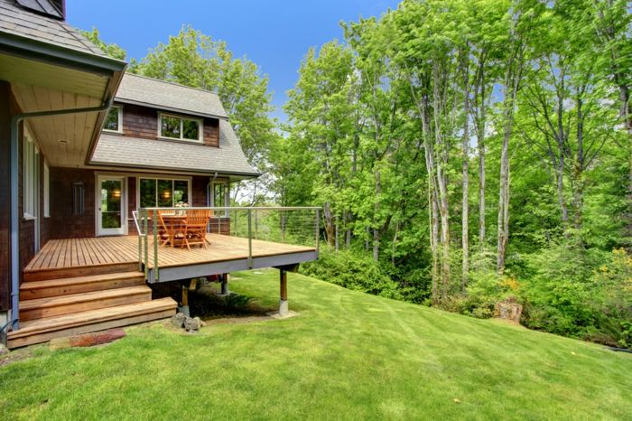 ▷ 1001+ conseils et design pratiques pour construire une terrasse
