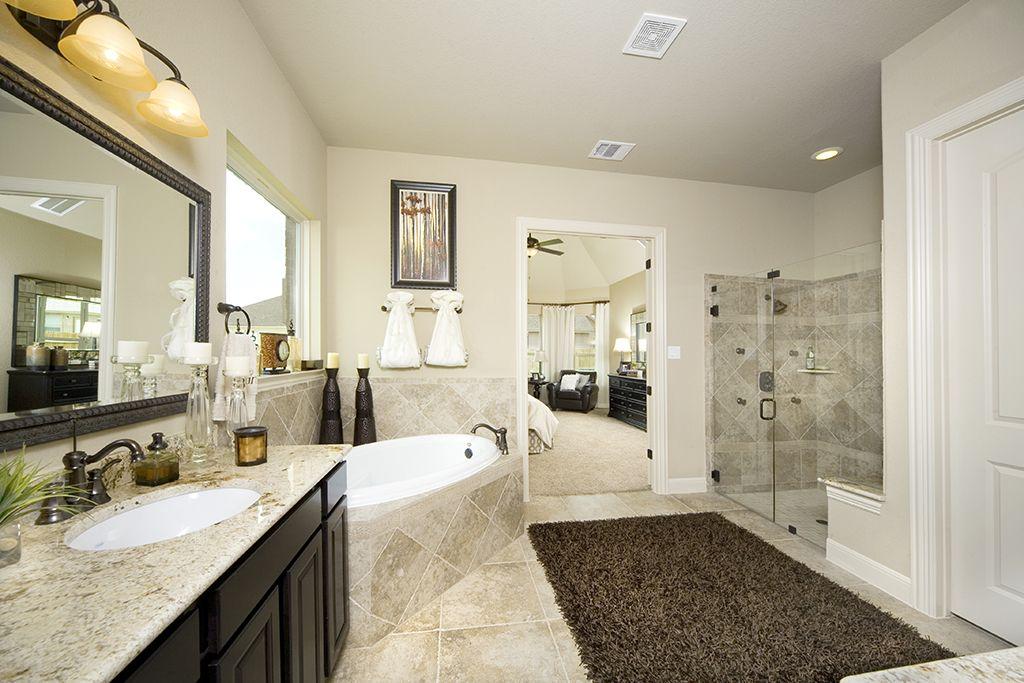 Photo Image View bathroom galleries that Gehan Homes offers Bathroom galleries for new homes for sale in Austin Dallas u Ft Worth Houston Phoenix and San Antonio