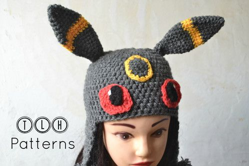 Umbreon Hat Tlh Patterns Pinterest Patterns Yarns And Pdf