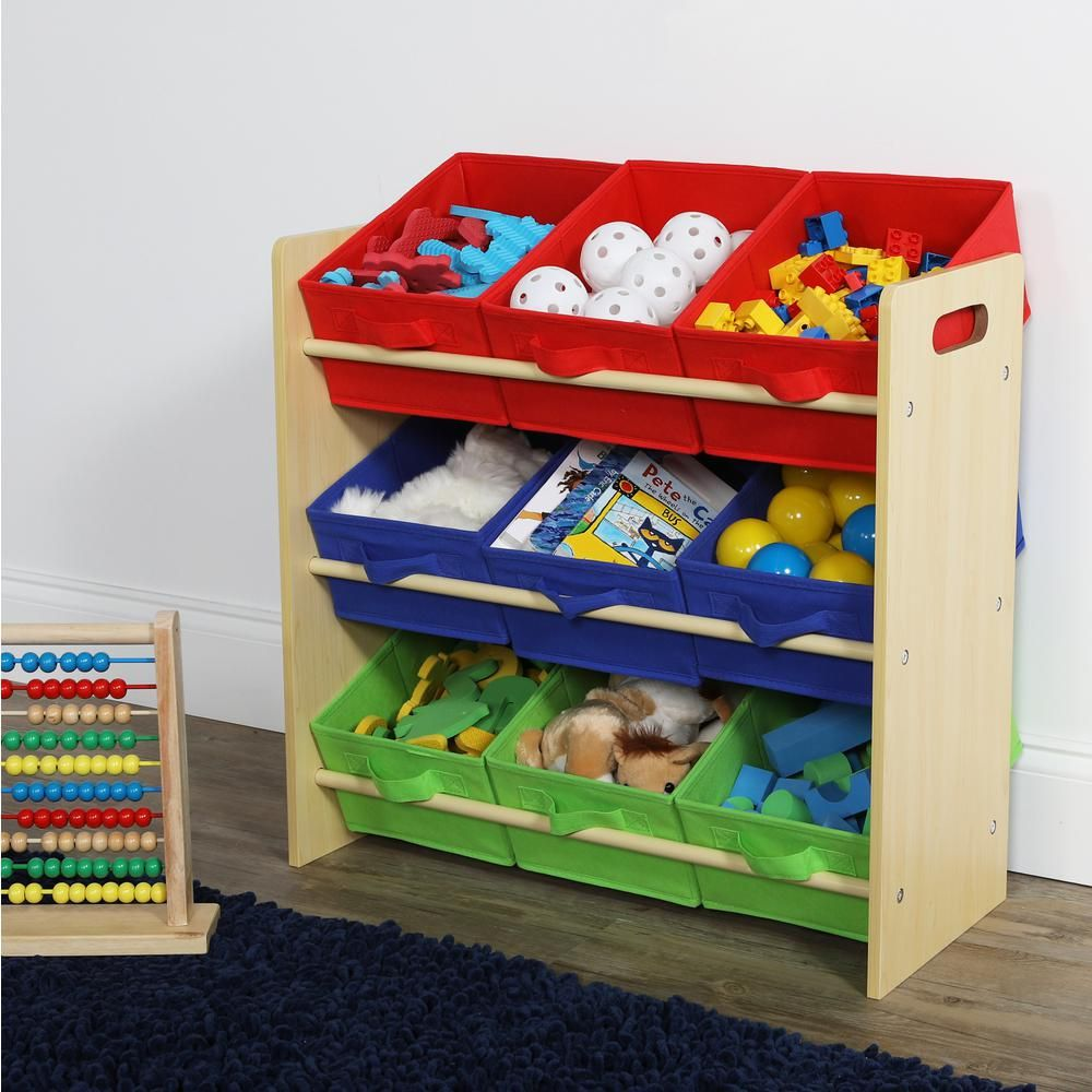Tot Tutors Primary Collection Natural Primary Kids Storage Toy