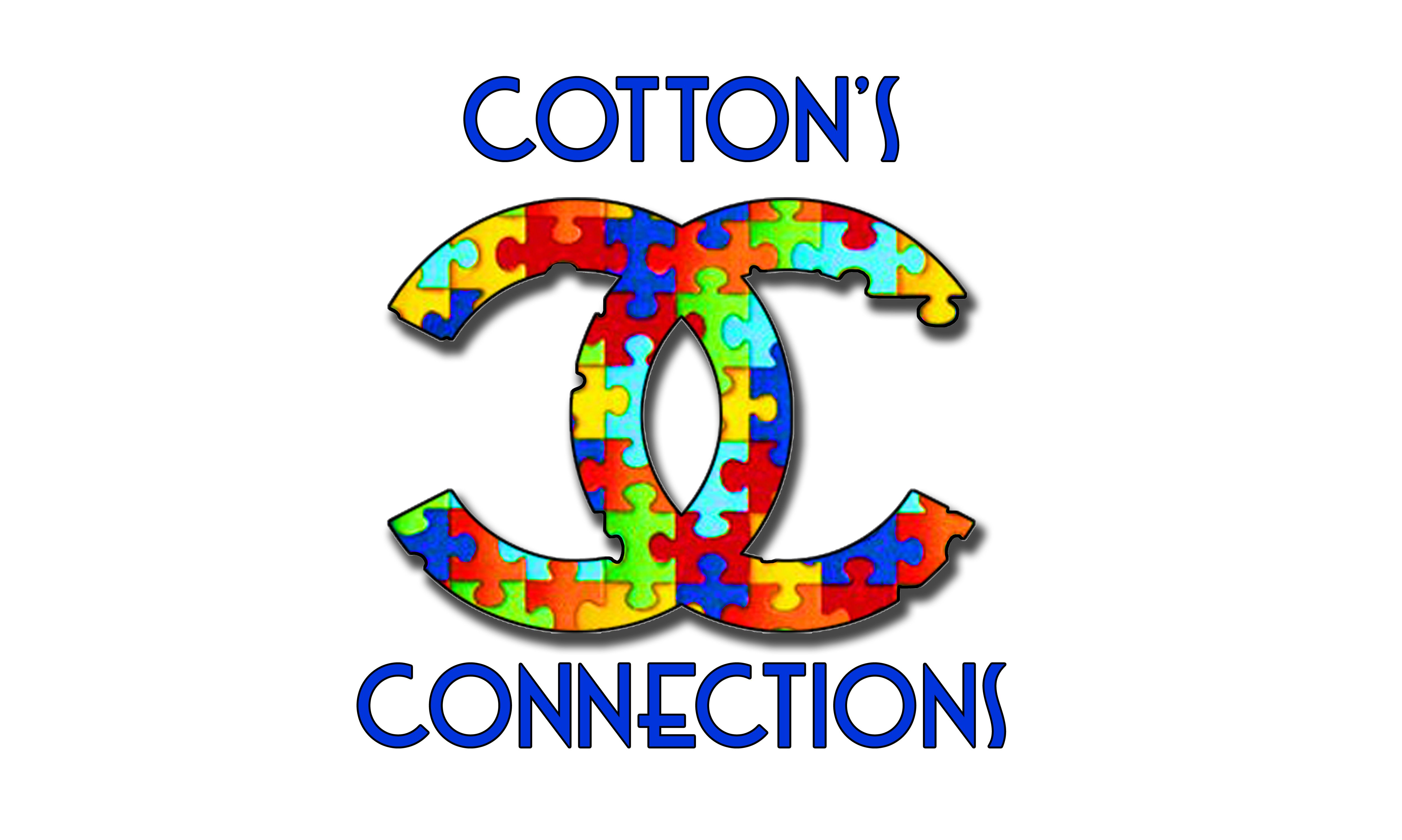 Our logo connecting 1 piece at a time cottons connections find this pin and more on cottons connections autism awareness for us by us buycottarizona Image collections
