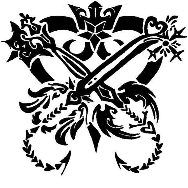 Resultado de imagem para kingdom hearts tattoo | Kingdom hearts ...