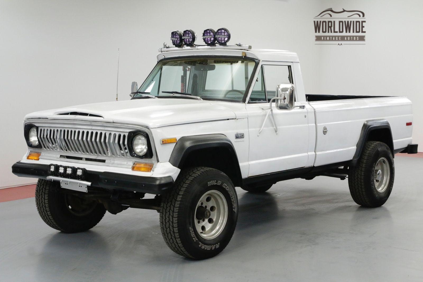 Jeep J20 J2000 V8 Gladiator Rare Driver 4x4 Ebay Jeep Classic Jeeps 4x4
